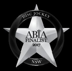 ABIA-Logo-DiscJockey-NSW 2017 FINALIST
